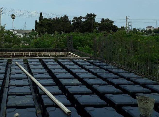 پروژه سقف وافل بابلسر تیر 98
