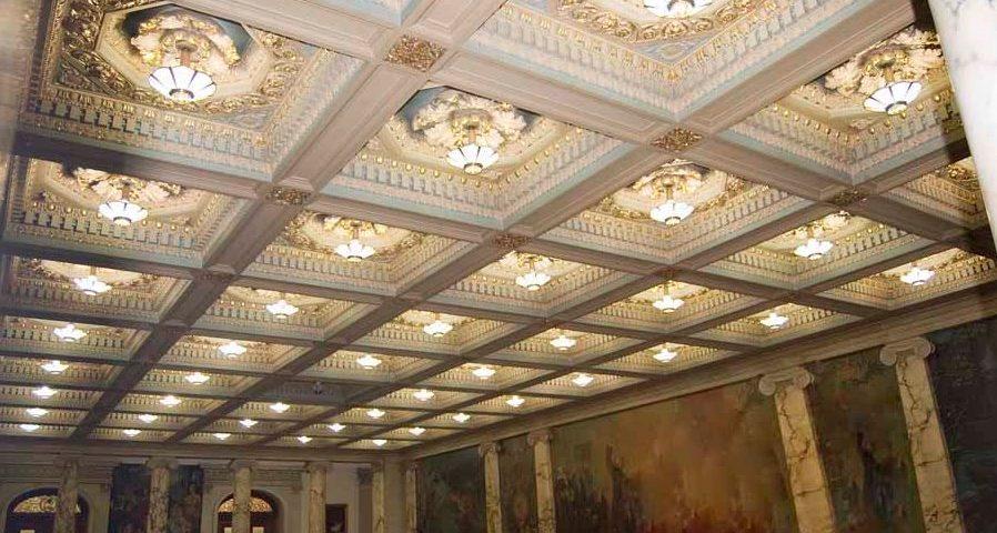 تزیینات سقف وافل