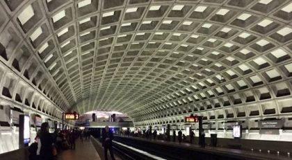 متروی واشنگتون با سقف وافل