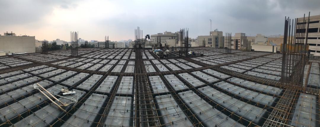 قالب وافل یک طرفه در اجرای سقف وافل یک طرفه