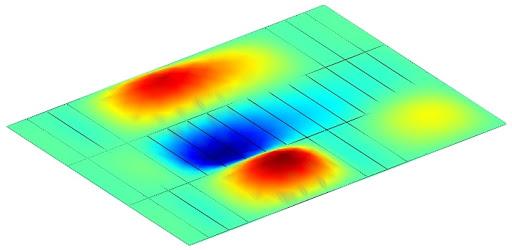 کنترل ارتعاش در سقف وافل ضوابط طراحی سقف وافل