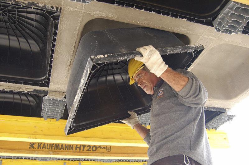 قالب برداری سقف وافل